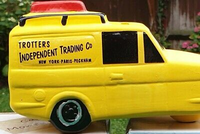 £8.95 • Buy Only Fools And Horses Ceramic Money Box Van With Stopper On Bottom + Free Gift..