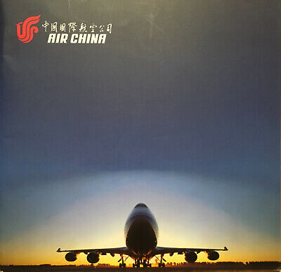 $59.99 • Buy Air China Airlines Profile Services Brochure 2000 Route Map B777 B747