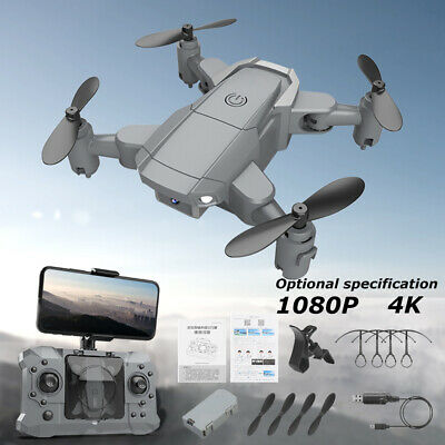 £24.99 • Buy Mini Drone Foldable With 4K Camera Wifi FPV Selfie RC Quadcopter Altitude HOT