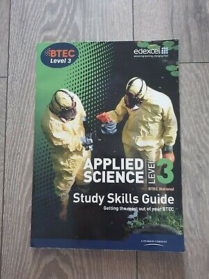 £3 • Buy VERY GOOD CONDITION BTEC Level 3 National Applied Science Study Guide EDEXCEL