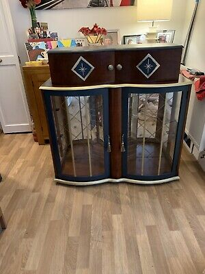 Beautiful Up Cycled Vintage Cocktail Cabinet • 120£