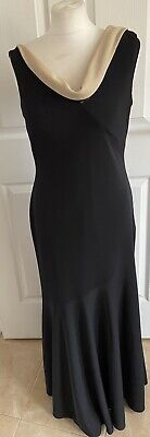 £12.99 • Buy Womens Size 12 After Six By Ronald Joyce Evening Dress Flattering Party Fishtail