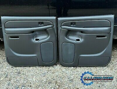 $224.99 • Buy ⭐️03-06 Silverado Sierra Avalanche Crew Cab Rear Door Panels