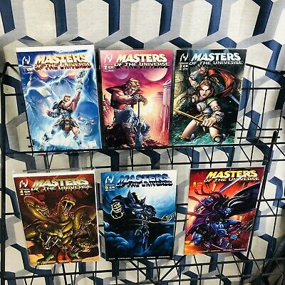 $59.99 • Buy Masters Of The Universe #1 2 3 4 5 6 7 8 Complete Set MVCreations / Image 2004