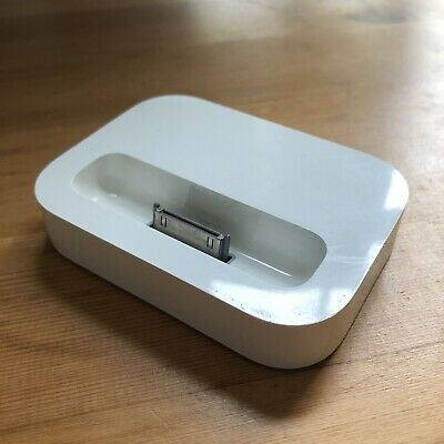 Original Apple IPod/iPhone 2003 30 Pin Docking Charging Stand Cradle Base • 9.99£