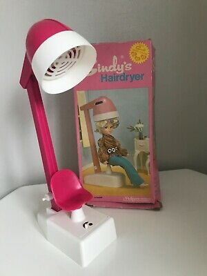 £29 • Buy Sindy Pink Hairdryer (12sa24) 1971 Complete Boxed Antique Pedigree Doll Bathroom