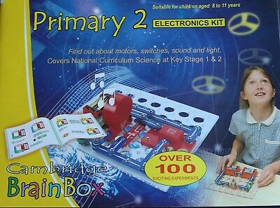 £2.95 • Buy Cambridge Brainbox Primary 2 Electronics Kit Spares Replacements - Choose One