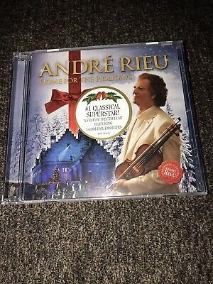 £14.49 • Buy Andre Rieu Home For The Holidays Classical 2012 Brand New Cd Sealed Sanitized