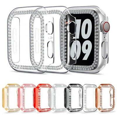 $ CDN8.57 • Buy For Apple Watch Series 3/4/5/6/SE Crystal Protective Bumper Cover Case