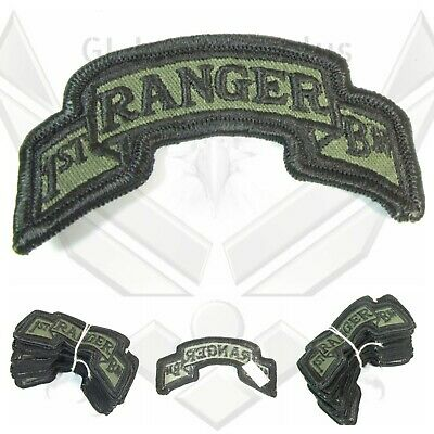 $19.99 • Buy Dealer Lot 40 NOS New Military US Army 1st Ranger Bn Subdued Scroll Patches 5D3