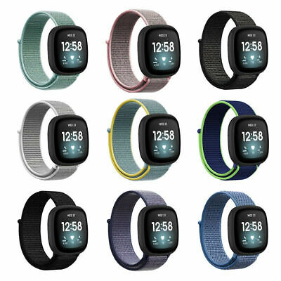 $ CDN6.78 • Buy For Fitbit Versa 3 Replacement Nylon Fabric Soft Durable SmartWatch Band Strap