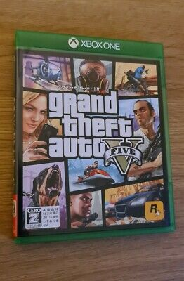 AU355.72 • Buy Grand Theft Auto V GTA 5 - Xbox One - Japanese - NTSC-J Ultra Rare