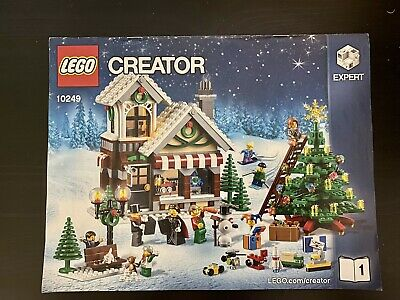Lego Winter Village Toy Shop 10249 100% Complete Set With Instructions, No Box • 109.99£