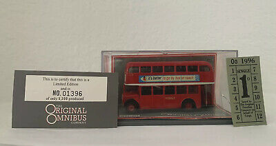 $ CDN28.81 • Buy Corgi Limited Edition 1:76 Double Decker Bus London Diecast AEC Regent V Hebble