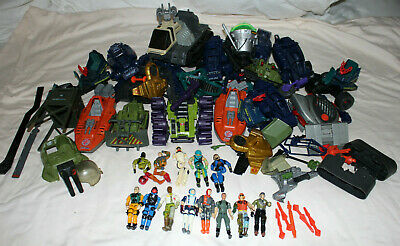$ CDN41 • Buy GI JOE Large Figure And Vehicle Lot Vintage 1980s Incomplete / Broken / As-is