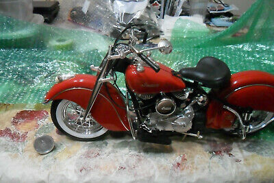 $65 • Buy NEW RAY 1948 Indian Chief Motorcycle 1:6 Scale Bike Collection NO BOX LOT 0 0 0