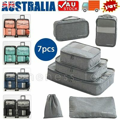 AU5.50 • Buy Home Travel Storage Bags Shoe Packing Cubes Luggage Organiser Clothes Suitcase