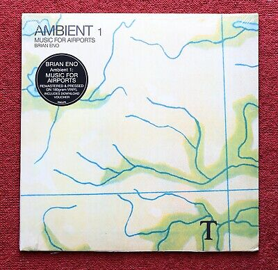 Brian Eno Ambient 1: Music For Airports Vinyl (New & Sealed) • 19.50£