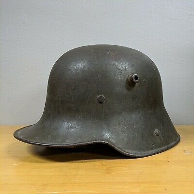 $719.99 • Buy M16 German WW1 WWI Helmet Signed Note Recieved @ Dugouts Via French Soldier ET64