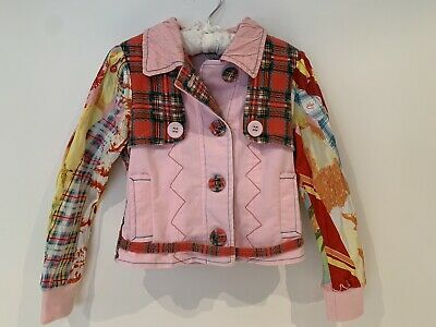 AU110 • Buy Save The Queen Girls Italian Jacket Size 6