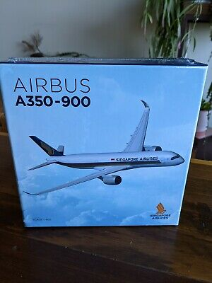 AU20.50 • Buy Diecast Model Plane - Singapore Airlines A350-900