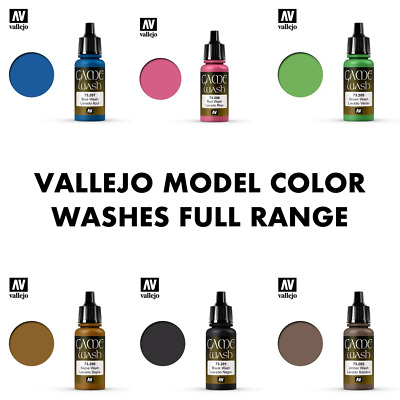 £2.55 • Buy Vallejo Game Color Washes Full Colour Range