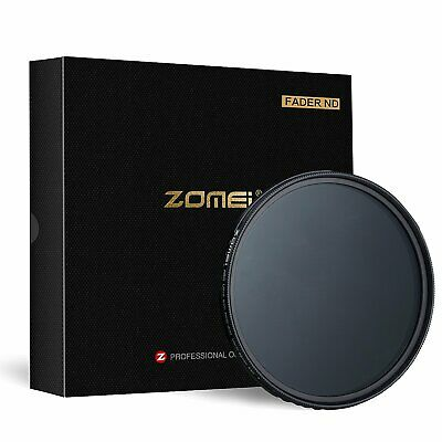 AU30.35 • Buy ZOMEI Fader ND2-400 Neutral Density Adjustable Filter ABS NO  X  Spot 55mm