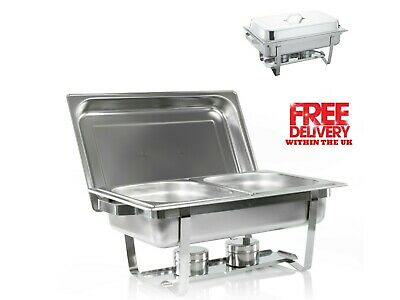 £39.99 • Buy Double Compartment Chafing Dish 13.5L BUFFET DISH / PARTY FOOD WARMER.