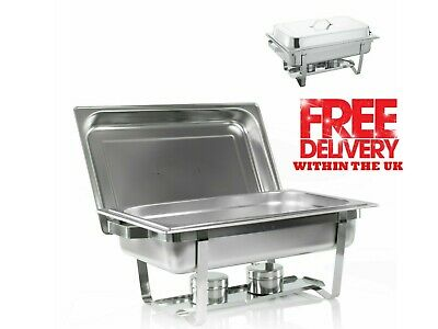 £42.99 • Buy Single Compartment Chafing Dish 13.5L BUFFET DISH / PARTY FOOD WARMER.