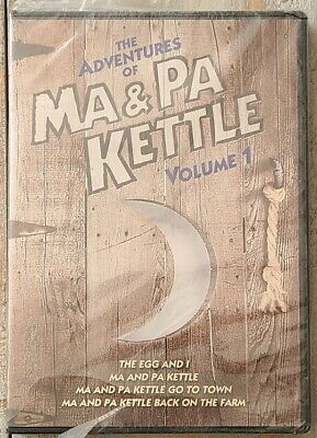 $7.19 • Buy The Adventures Of Ma And Pa Kettle Volume 1 DVD (2011) 2-Disc Set Brand New!
