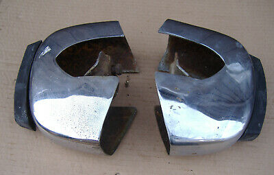 Pair Of Rover P6 Front Bumper Overiders • 20£