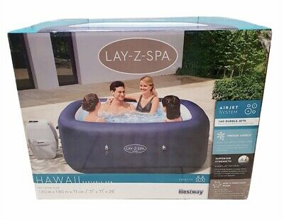Lay-Z-Spa Hawaii Airjet 6 Person Hot Tub 2021 Model Free Delivery Or Collection • 809£
