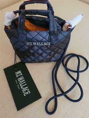 AU56.37 • Buy NWT  MZ Wallace Dark Blue And Black Camo  Tiny Metro Tote NEW $65