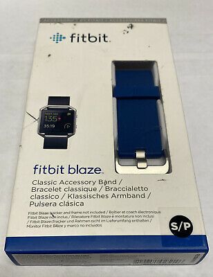 $ CDN10.28 • Buy Fitbit Blaze Classic Accesory Band Size Small Blue New In Box