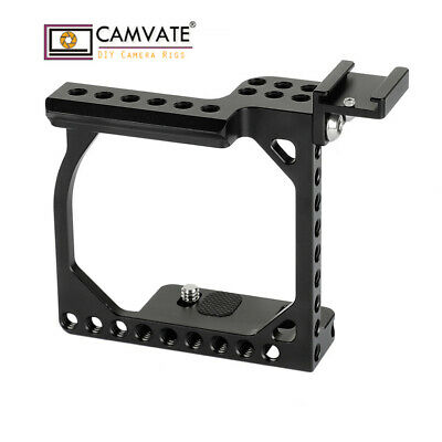 $ CDN51.55 • Buy CAMVATE Camera Cage Rig Shoe Mount For Sony A6400 A6500 A6600 Canon EOS M