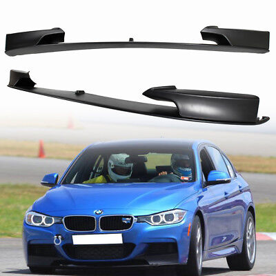 AU533.53 • Buy Fit For BMW 3er F30 Sedan M Sport M Model 12-18 Front Bumper Lip Spoiler Unapint