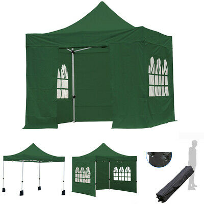 Heavy Duty Outdoor Garden Gazebo Adjustable And Waterproof Party Camping Tent UK • 185.99£