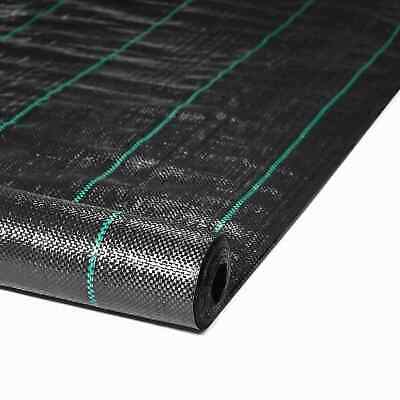 £19.99 • Buy Heavy Duty Weed Control Fabric Ground Cover Garden Landscape Membrane 1M,2M,4M