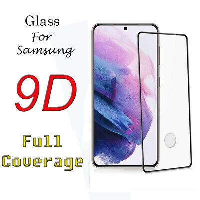 $ CDN6.39 • Buy Full Glass Screen Protector For Samsung Galaxy S10+ S20+ S21+ Note 20 Ultra FE