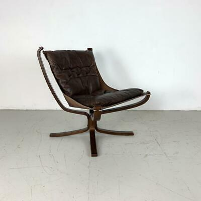 AU1617.11 • Buy DANISH FALCON CHAIR SIGURD RESELL RESSELL RETRO 60s 70s MIDCENTURY BROWN #3231