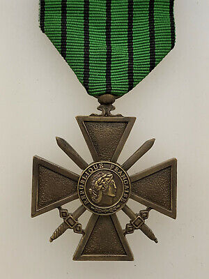 £39.75 • Buy France/French WWII 1939/43 Vichy French Croix De Guerre Medal