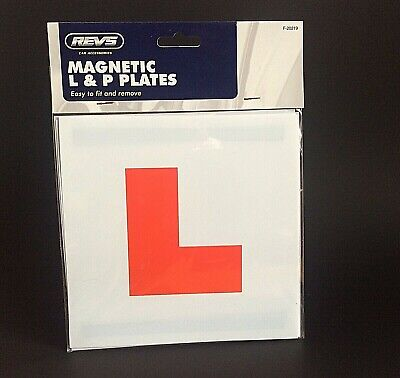 Fully Magnetic Car Just Passed New Driver P Plate & Learner L Plates Set • 3.99£