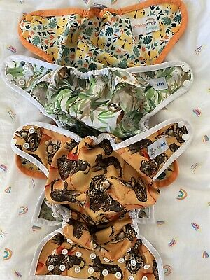 AU0.99 • Buy PUL Wipeable Cloth Nappy Shells Wraps * Baby Bare * Seedlings Comodo