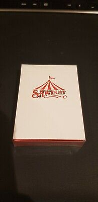 Sawdust Playing Cards. Rare. OOP. Emmanuel Jose. Sealed. Collectable. Art Work • 20£