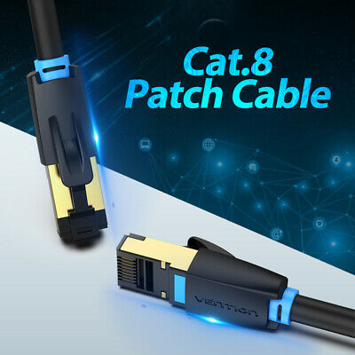 AU12.99 • Buy PREMIUM Cat 8 Network Ethernet Cable  SSTP Patch 40Gbps 2000MHZ
