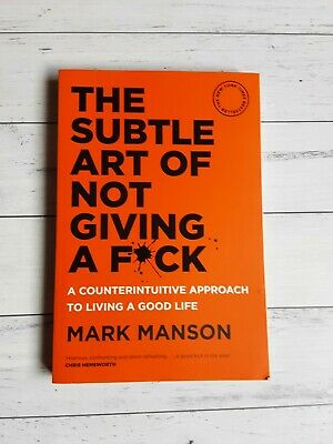 AU8 • Buy THE SUBTLE ART OF NOT GIVING A F*CK Approach To Living A Good Life BUSINESS BOOK
