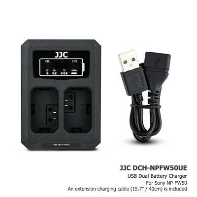 AU17.99 • Buy USB Battery Charger Fits NP-FW50 For Sony A7 II A7R II A7S II A6100 A6500 A6400