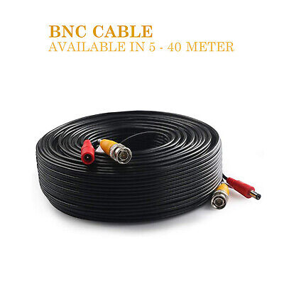 £4.50 • Buy BNC DC Power Lead 5M-50M CCTV Security Camera DVR Video Recorder Extension Cable