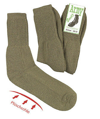 Army-Socken, With Wool, IN 3er Pack, Army Military Cadets, Bundeswehr • 8.51£
