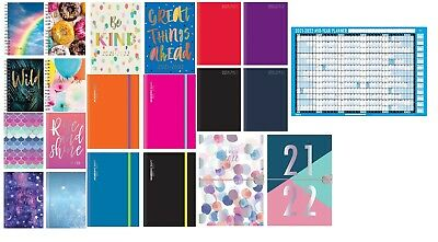 £3.45 • Buy 2021 - 2022 A5 Academic Mid Year Page A Day / Week To View Student Diary Planner